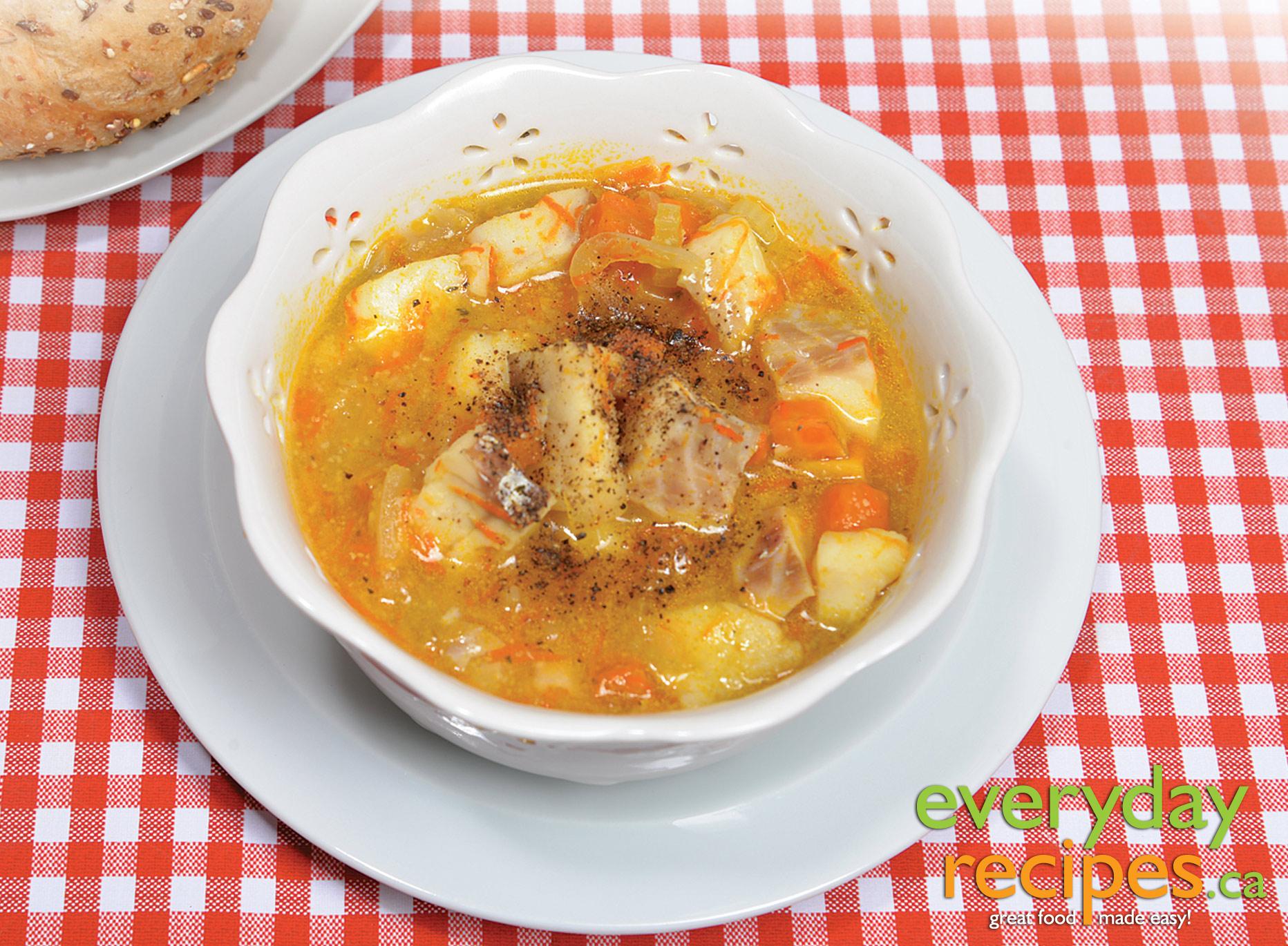Cod stew for Fish stew recipe cod